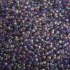 Seedbead 10/0 Transparent Light Amethyst Rainbow